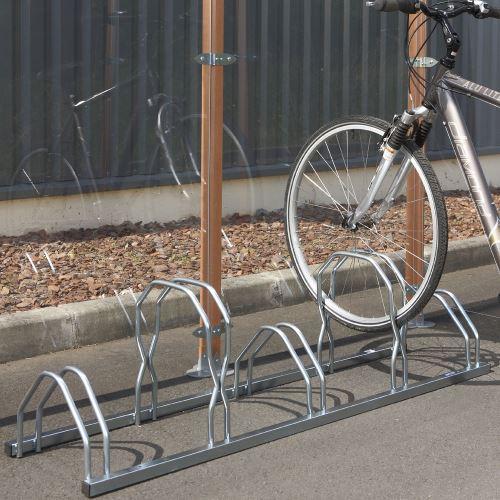 Stojan pre 5 bicyklov - STRIEDAVÝ