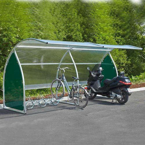 Prístrešok na bicykle - prístavný modul