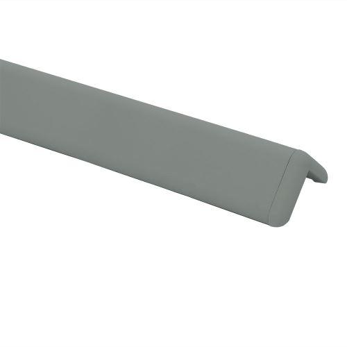Ochrana rohu DELUX AL 76 - dĺžka 1,5 m - TMAVO ŠEDÁ + koncovka TMAVO ŠEDÁ