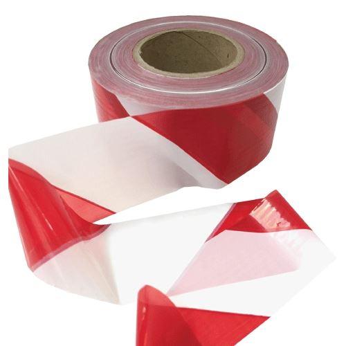 Vytyčovacia ČERVENO - BIELA páska