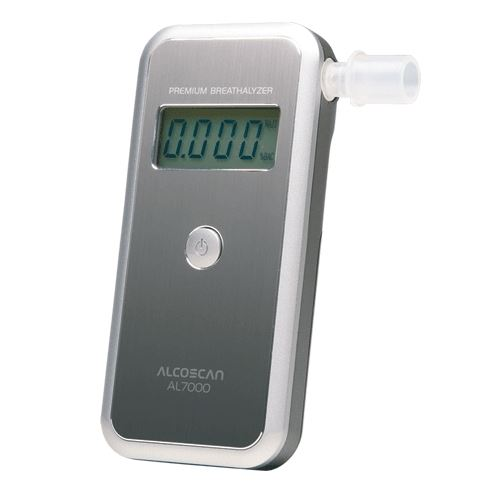 Detektor alkoholu AL 7000 + 50 ks náustkov