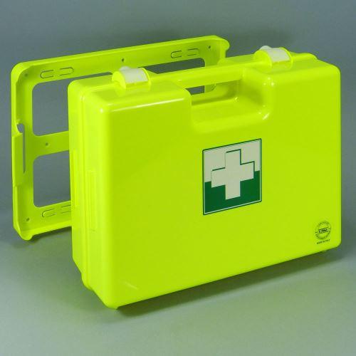 Kufor prvej pomoci FLUO 4 s náplňou ELEKTRO