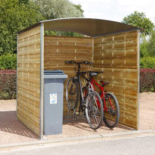 Prístrešok pre bicykle / odpadkové kontajnery