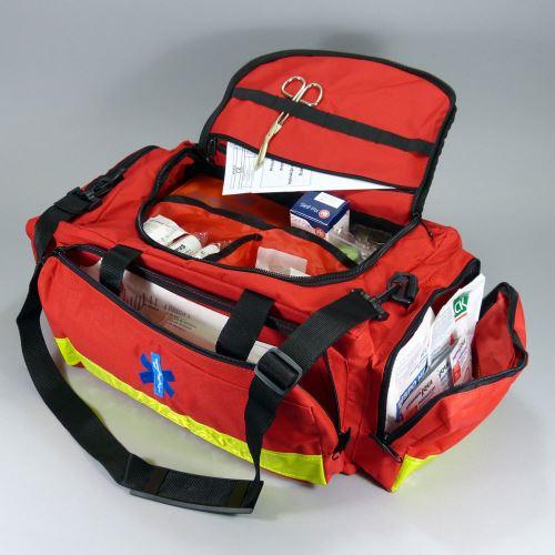 Záchranárska zdravotnícka brašna s náplňou ŠPORT