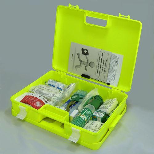 Kufor prvej pomoci FLUO 3 s náplňou SKLAD - OBCHOD