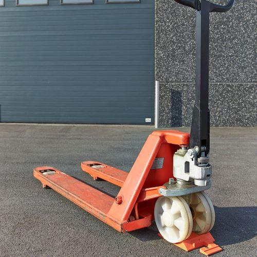 Brzda pre paletové vozíky