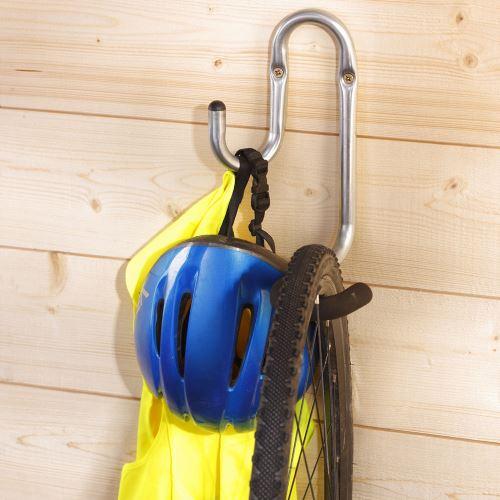 Nástenný hák pre zavesenie bicykla
