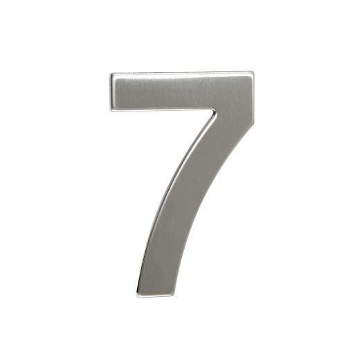 Domovní číslo nerezové - č. 7