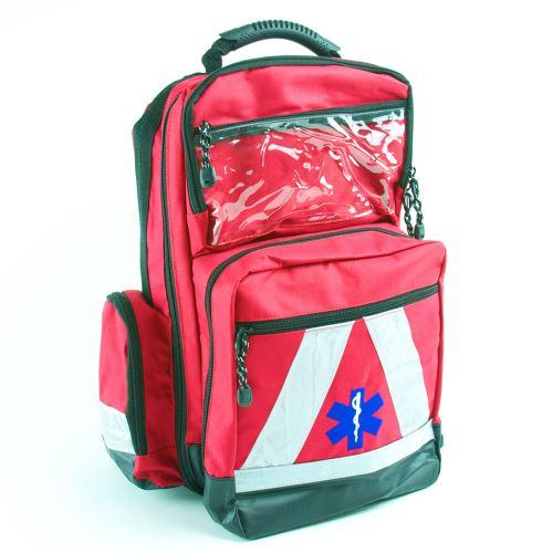 Záchranársky vodeodolný batoh s náplňou ŠKOLA