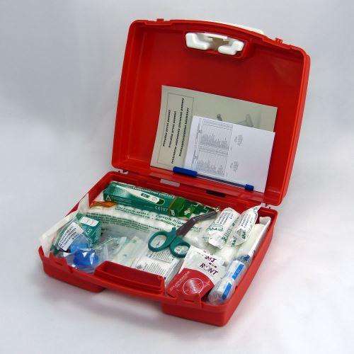 Plastový kufor malý PP s náplňou KANCELÁRIA