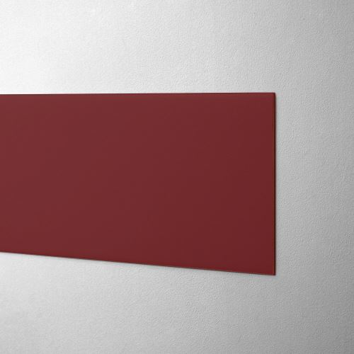 Plastový pás na ochranu stien - TMAVOČERVENÝ - štandard - dĺžka 3 m