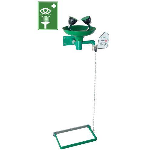 Očná bezpečnostná sprcha 2S - nástenná polypropylénová