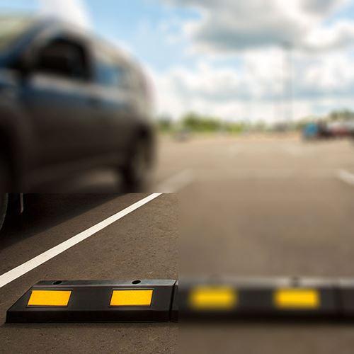 Parkovací doraz 61 cm - koncový modul
