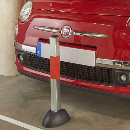 Parkovacia zábrana - Zahradzovací sklopný stĺpik