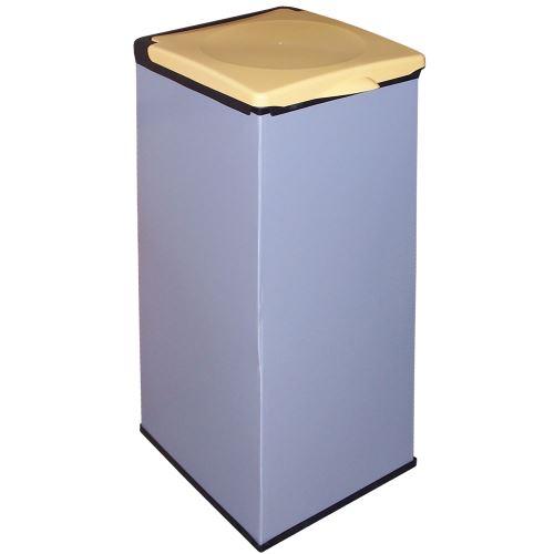 Kôš na odpadkové vrecia MONTI - veko ŽLTÉ