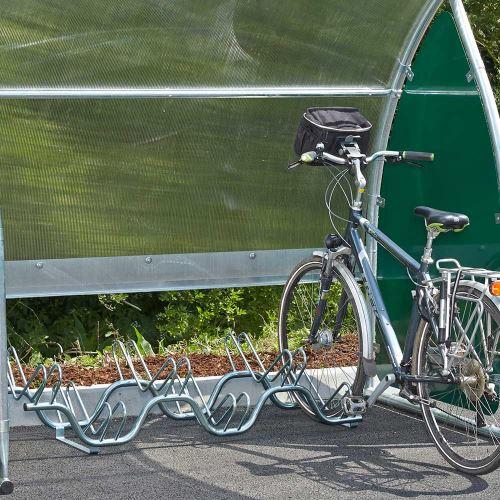 Stojan na bicykle - pre 6 bicyklov