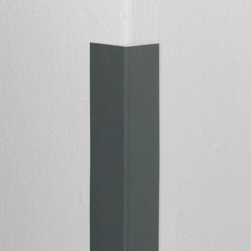 Plastová ochrana rohu DELUX - TMAVO ŠEDÁ - 50 x 50 mm x 1,5 m - štandard