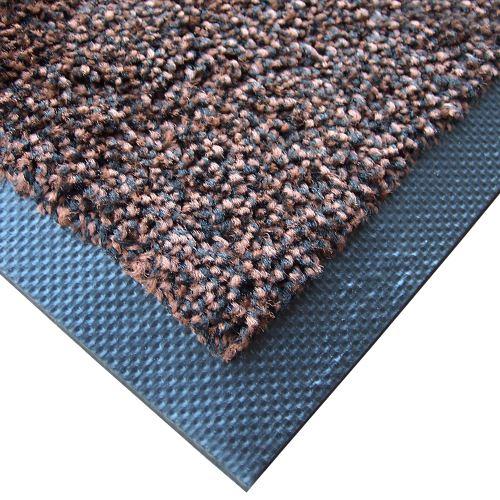 Textilná rohož záťažová MAGIC 75 x 85 cm - HNEDÁ