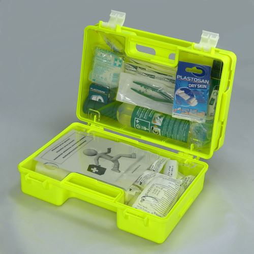 Kufrík prvej pomoci FLUO 2 s náplňou SKLAD - OBCHOD