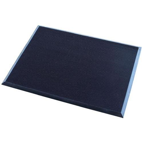 Vstupná rohož s kefovým efektom 60 x 80 cm