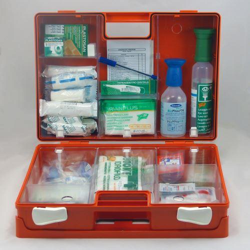 Kufor prvej pomoci veľký KP 5 s náplňou CHEMICKÁ PREVÁDZKA