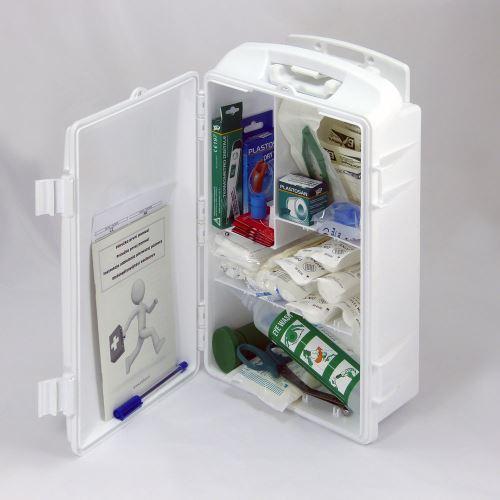 Prenosná lekárnička biela s náplňou SKLAD - OBCHOD