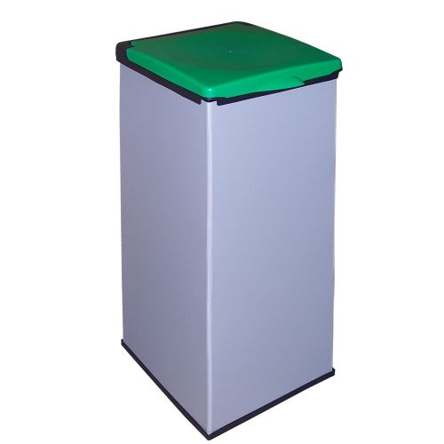 Kôš na odpadkové vrecia MONTI - veko ZELENÉ