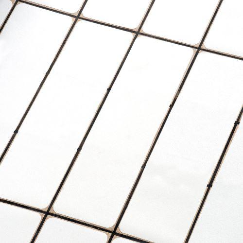 Protišmykový pás vinylový BIELY 150 x 610 mm