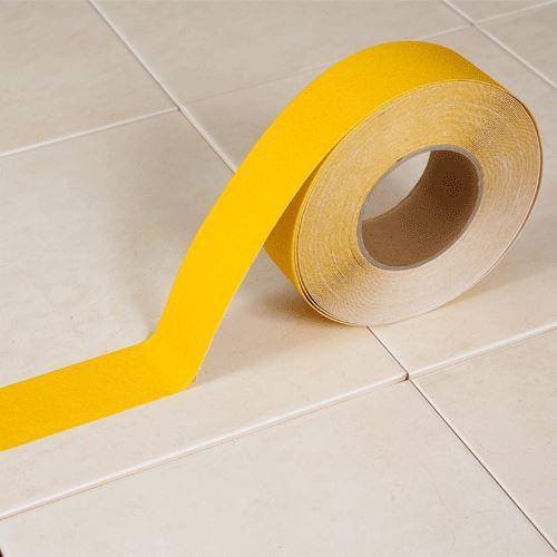 Protišmyková páska ŽLTÁ 5 cm x 18 m