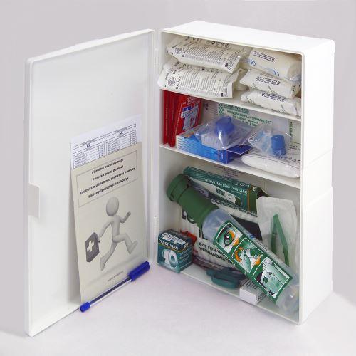Plastová lekárnička malá s náplňou SKLAD - OBCHOD