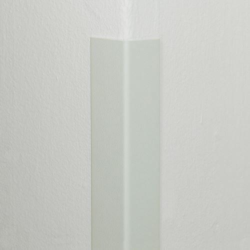 Plastová ochrana rohu DELUX - BIELA - 50 x 50 mm x 1,5 m - štandard