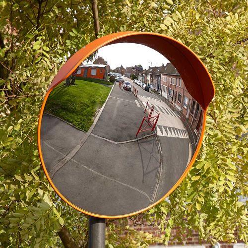 Dopravné vypuklé zrkadlo 80 cm