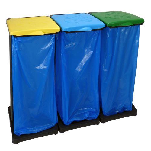 Držiak 3 odpadkových vriec - na triedenie odpadu