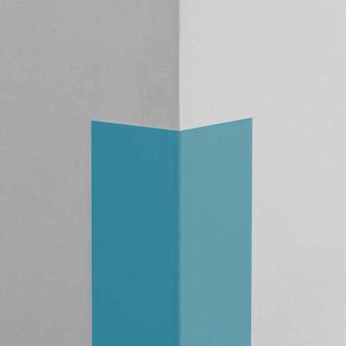 Plastová ochrana rohu LUX - SVETLOMODRÁ - samolepiaci - dĺžka 2 m