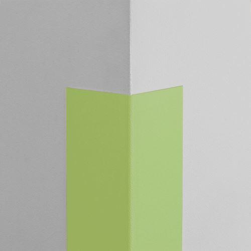 Plastová ochrana rohu LUX - LIMETKA - samolepiaci - dĺžka 1 m