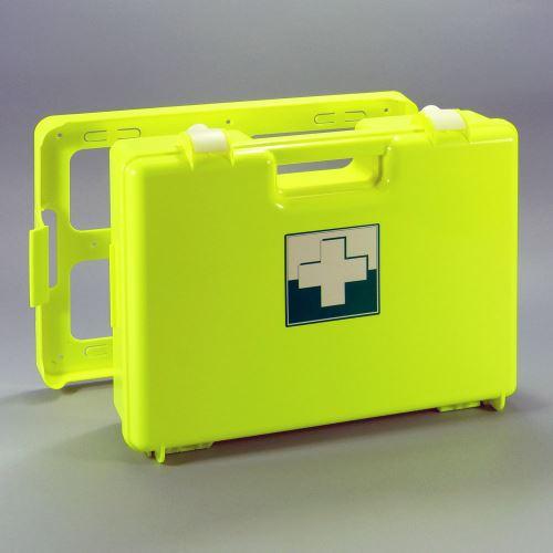 Kufor prvej pomoci FLUO 3 s náplňou VÝROBA