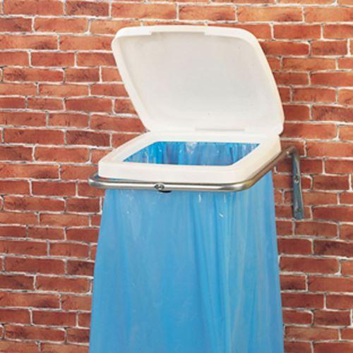 Nástenný držiak na odpadkové vrecia + 50 ks vriec na odpadky