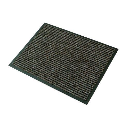 Vstupná textilná rohož hnedá 60 x 80 cm