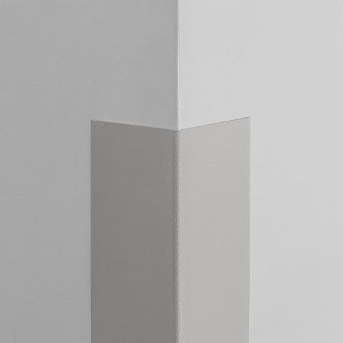 Plastová ochrana rohu LUX - SVETLOŠEDÁ - samolepiaci - dĺžka 1,5 m
