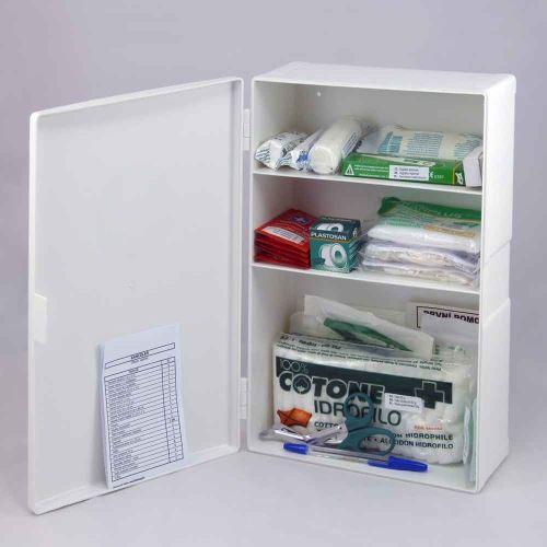 Plastová lekárnička malá s náplňou ŠTANDARD