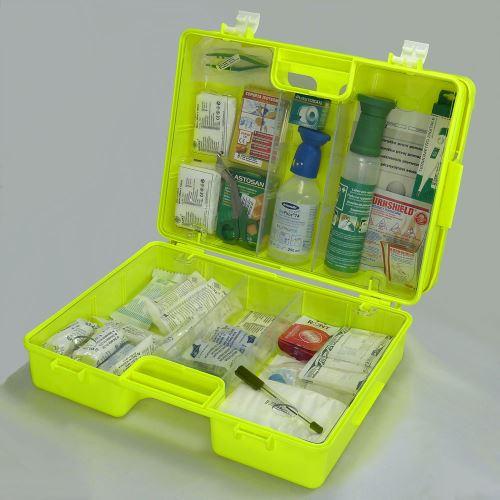 Kufor prvej pomoci FLUO 4 s náplňou CHEMICKÁ PREVÁDZKA