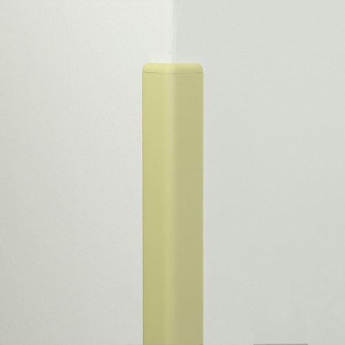 Ochrana rohu DELUX AL 50 - délka 1,5 m - SLONOVÁ KOST + koncovka SLONOVÁ KOST