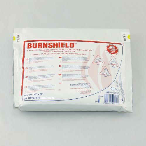 BURNSHIELD 100 x 200 cm - Hydrogelové krytie na popáleniny