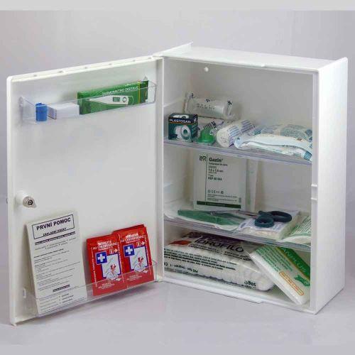 Plastová lekárnička LP s náplňou ŠTANDARD