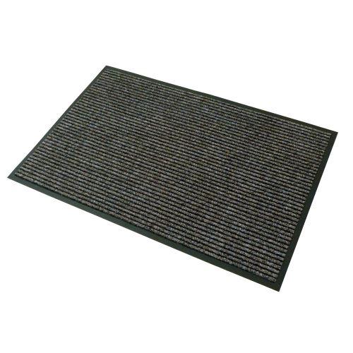 Vstupná textilná rohož hnedá 80 x 120 cm