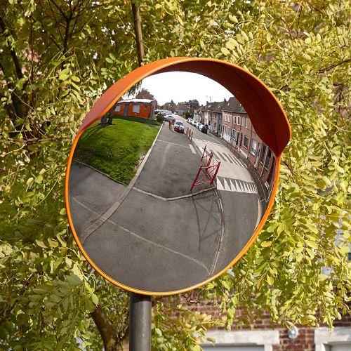 Dopravné vypuklé zrkadlo 60 cm