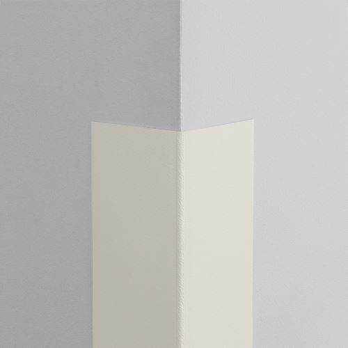 Plastová ochrana rohu LUX - BIELA - samolepiaci - dĺžka 1 m
