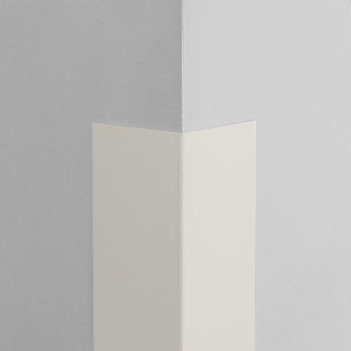 Plastová ochrana rohu LUX - BIELA - samolepiaci - dĺžka 1,5 m