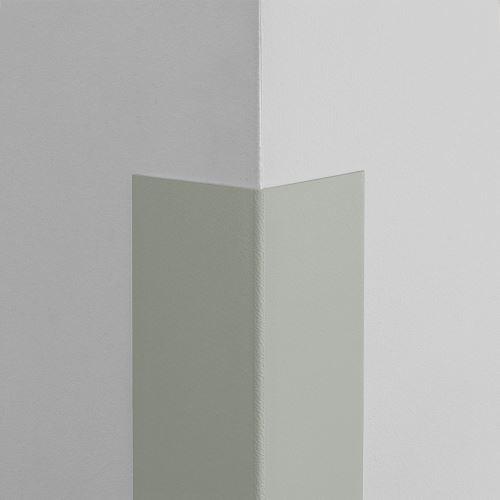 Plastová ochrana rohu LUX - ŠEDÁ - samolepiaci - dĺžka 1 m