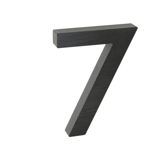 Domovní číslo 3D AL antracit - č. 7